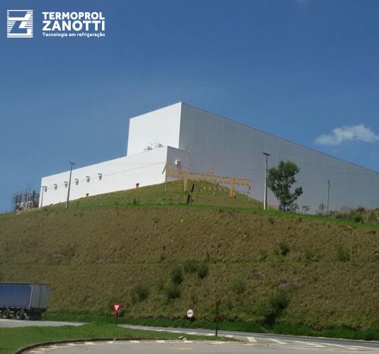 Novo Centro de Distribuição da Kopenhagen e Chocolates Brasil Cacau (Grupo CRM) possui equipamentos Termoprol