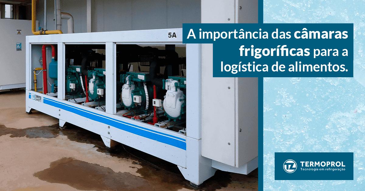 A importância das câmara frigoríficas para a logística de alimentos