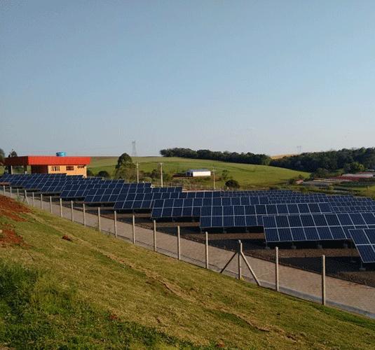 Inaugurada primeira usina de energia solar do Rio Grande do Sul
