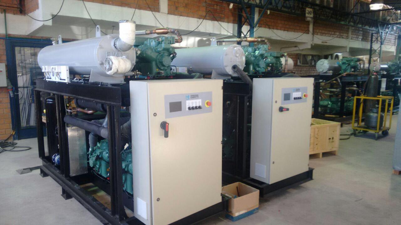 Termoprol Zanotti se prepara para embarque de fornecimento de instalação frigorífica completa