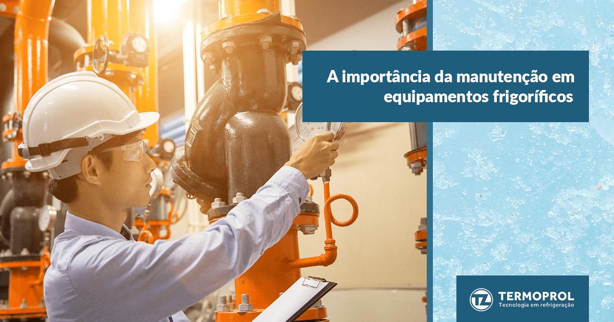 A importância da manutenção em equipamentos frigoríficos