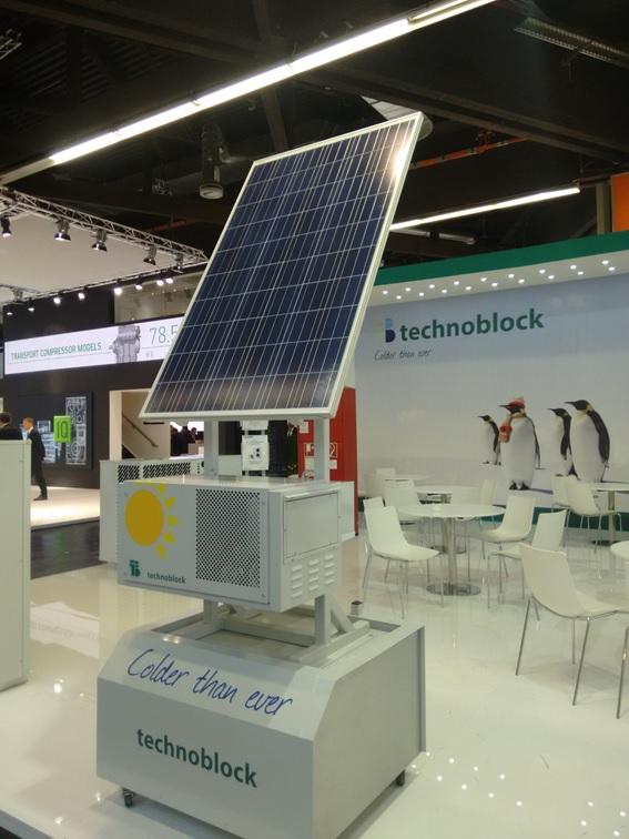 Unidade Refrigeração à Energia Solar é sucesso na ChillVenta